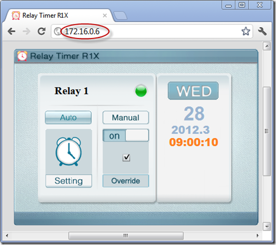 Relay Timer R1X - Remote Control