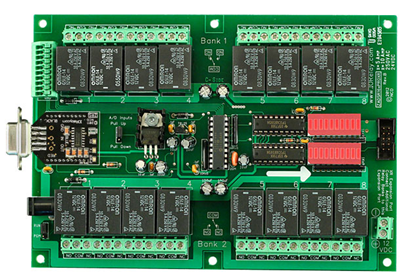 Relay Controller Board of Nation Control Devices
