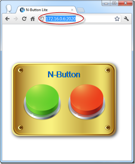 N-Button Lite - Control Widgets Remotely