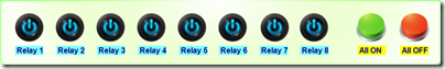 N-Button Relay Control Widgets