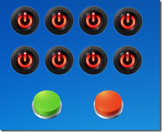 Relay Buttons float on desktop