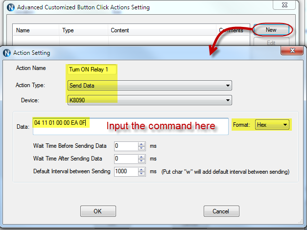 N-Button Pro - Action Setting