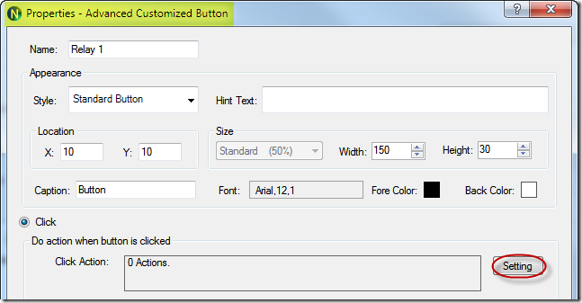 N-Button Pro - Advanced Customized Button - Properties