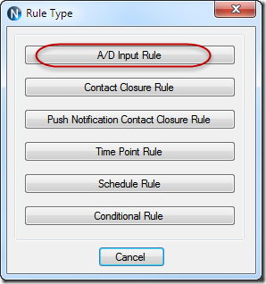N-Button Automation Rule Type