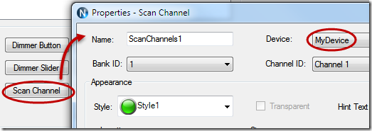N-Button Scan Channel