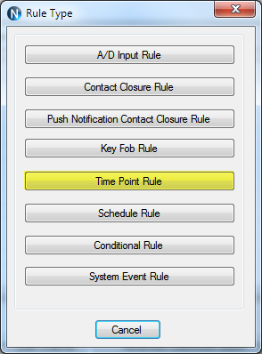 N-Button Automation Time Point Rule