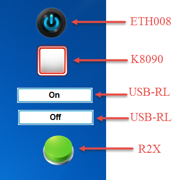 N-Button Control multiple devices
