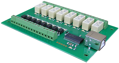 Robot Electronics Relay Board USB-RLY88