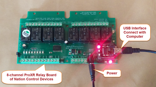 ProXR Relay Board of National Control Devices