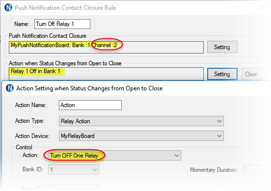 N-Button - Automation - Push Notification Rule Setting - channel2
