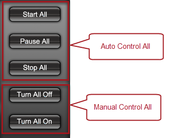 Quick Timer R8X - Relay Control Buttons